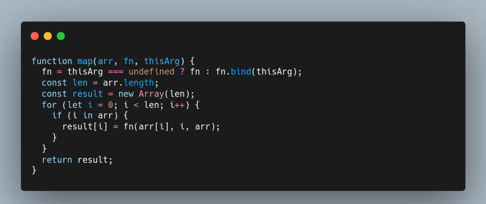 Cover image for Understanding Array.map by Rolling Your Own