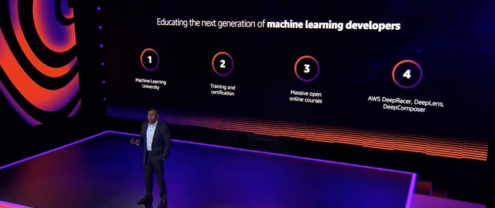 Cover image for What's New in ML? re:Invent ML Keynote