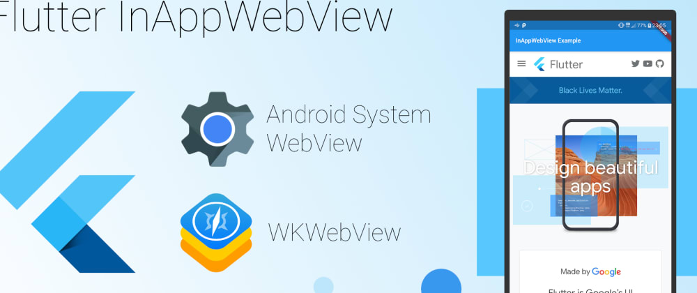 Cover image for InAppWebView: The Real Power of WebViews inFlutter