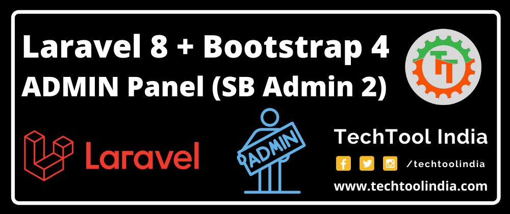 Cover image for Laravel 8 FREE Admin Panel With Login & Registration