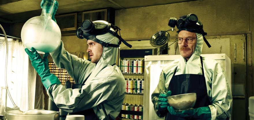 Breaking Bad Crystal Cooking