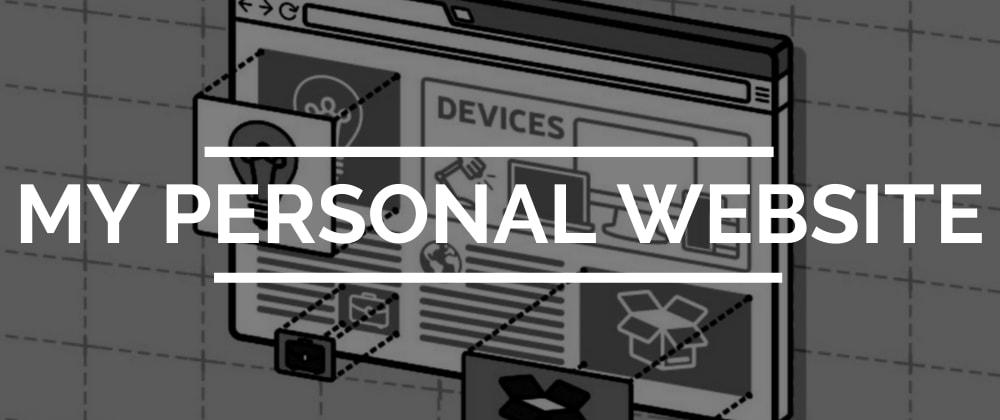 Cover image for Creating a Personal Website/Portfolio