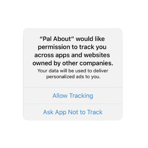 Apple App Tracking Permission Request