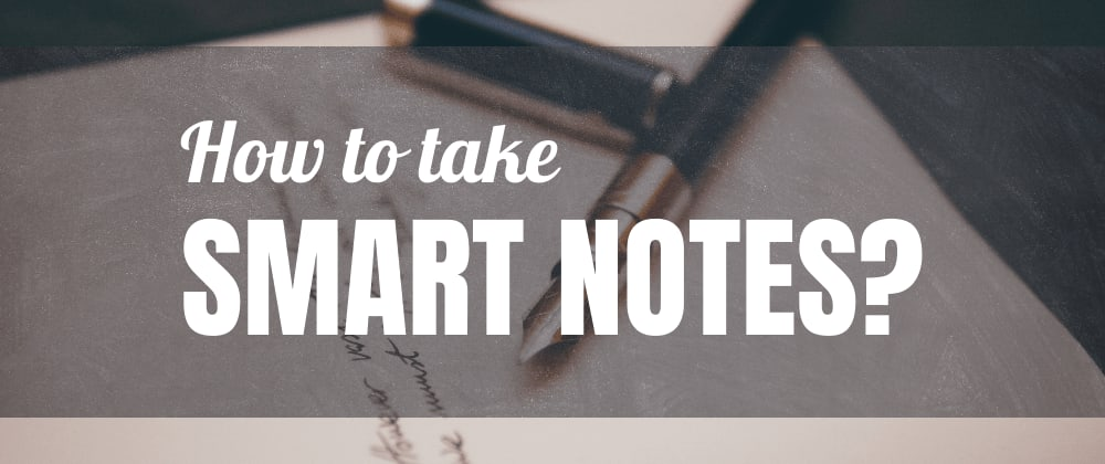 Cover image for How to Take Smart Notes. Takeaways