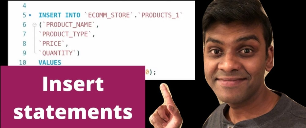 Cover image for Insert Statements