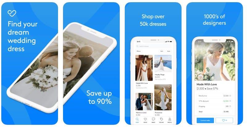 React Native apps: Stillwhite app screenshots