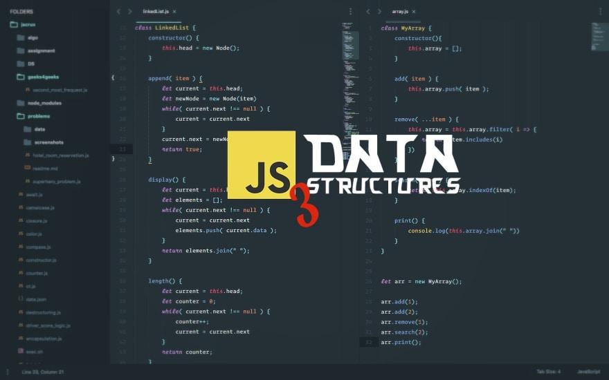 DS with JS - DEV Community 👩 💻👨 💻