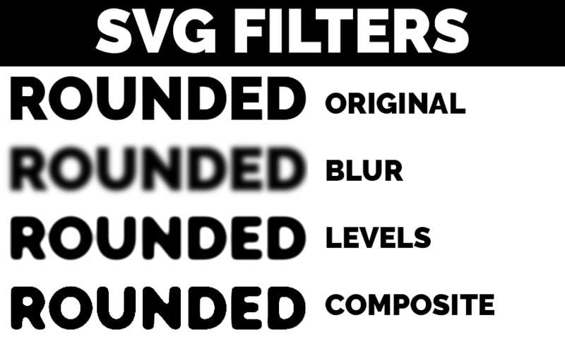 Smooth SVG Filter