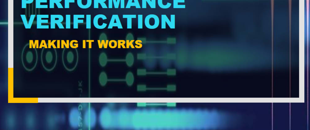 Cover image for Eight moderator factors of security and performance verification