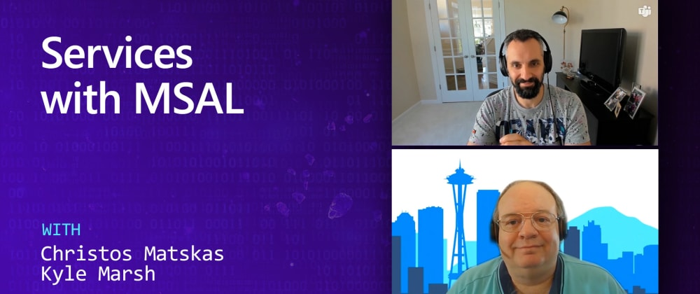 Cover image for On .NET Episode: Securing Services with MSAL