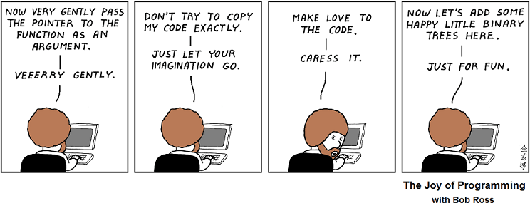 Abstruse Goose The Happy Programmer