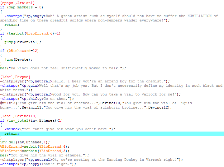 Image result for runescript