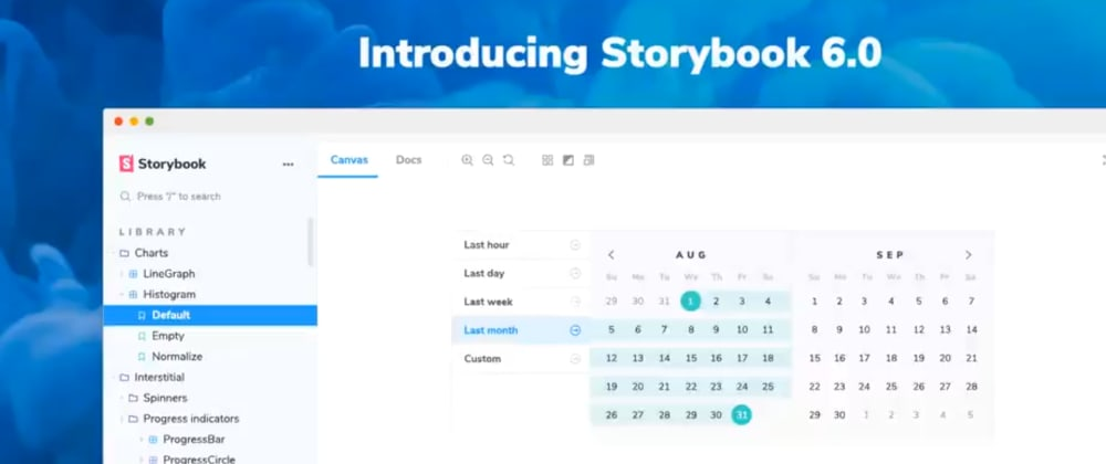 Cover image for Storybook v6.0 released