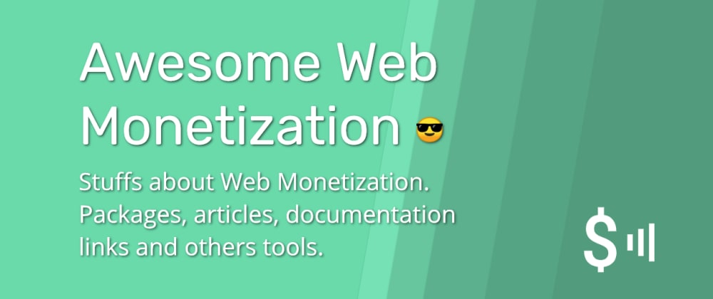 Cover image for Awesome Web Monetization