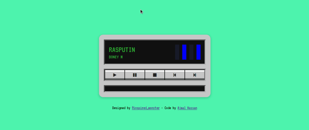 Cover image for Sunday Fun: Music Player