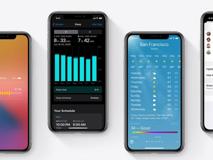 iOS 14 Weather