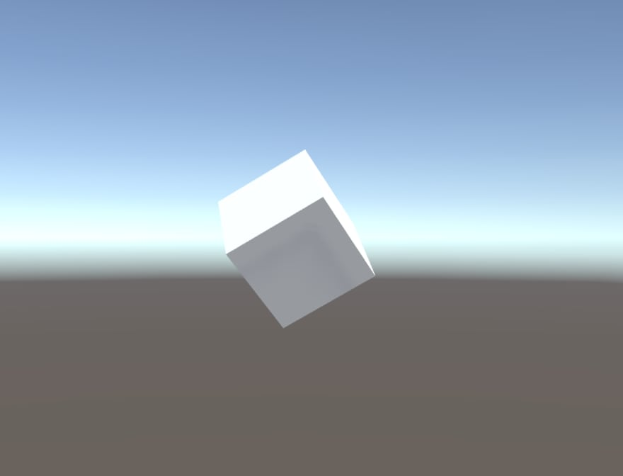 Look a floating cube