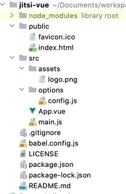 folder after config
