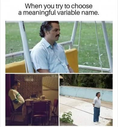 Coming up with meaningful variable name