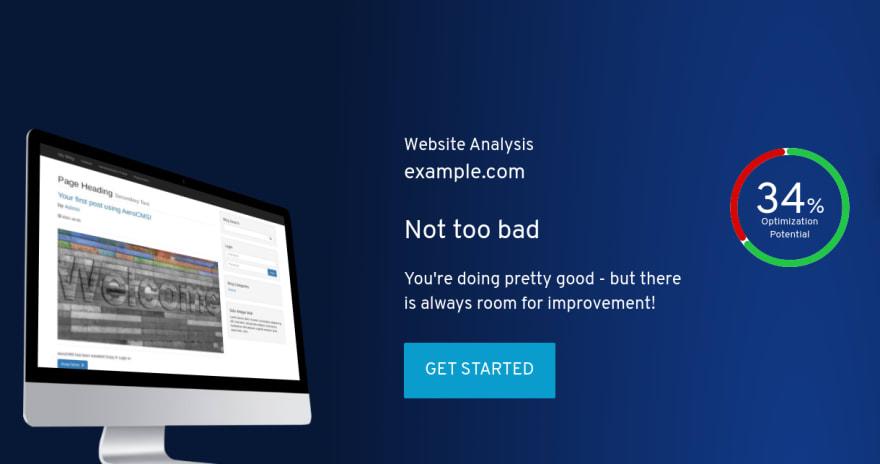 SEO Ranking of a Website Running AeroCMS
