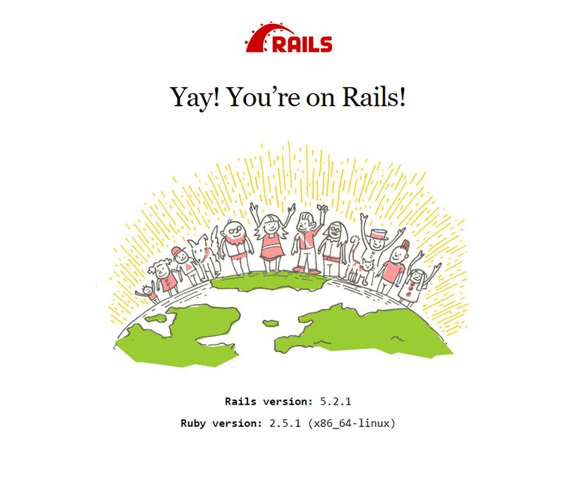 Rails successful