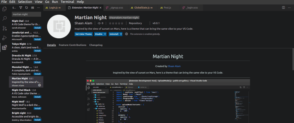 Cover image for I created a VS Code theme 🔥️