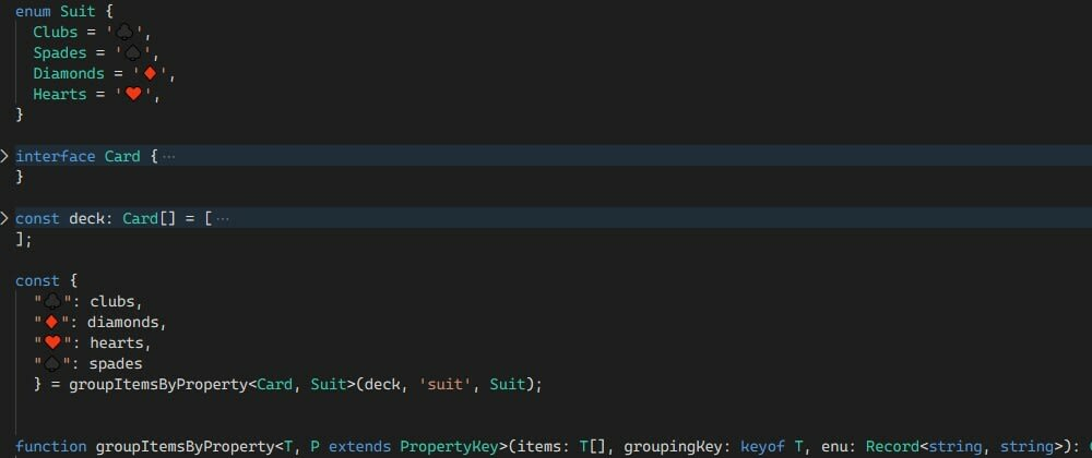 Cover image for Split collection based on enum value with typescript