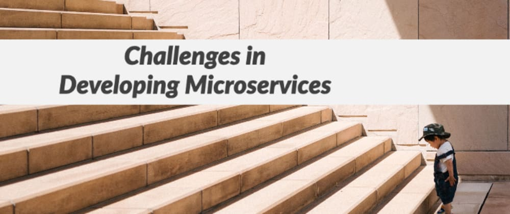 Cover image for Challenges in Developing Microservices