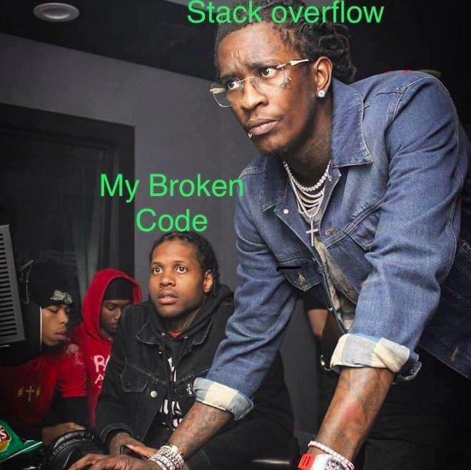 Stackoverflow meme