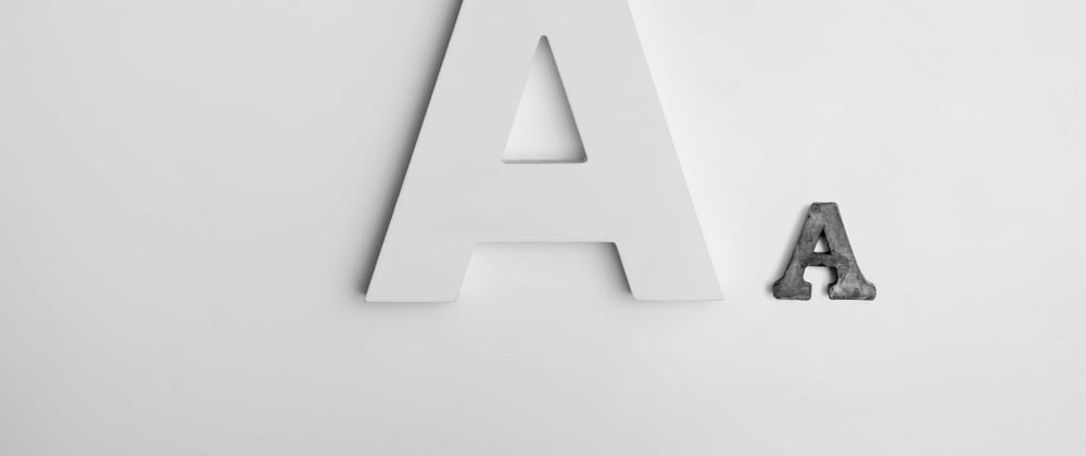 Cover image for My favorite fonts for developing websites