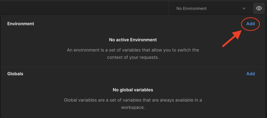 Add Environment