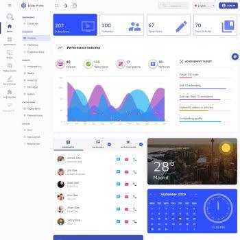 Enlite Prime Material-UI Template