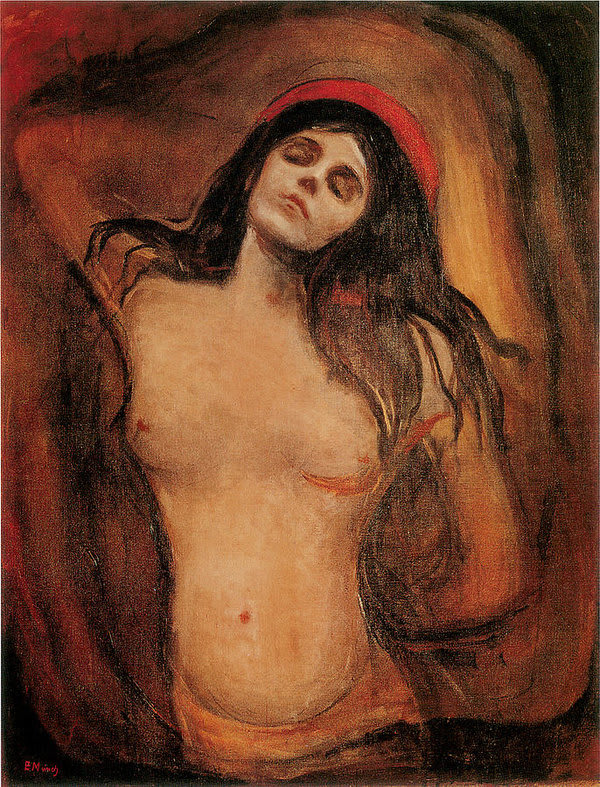 Edvard Munch painting that AI was trained on