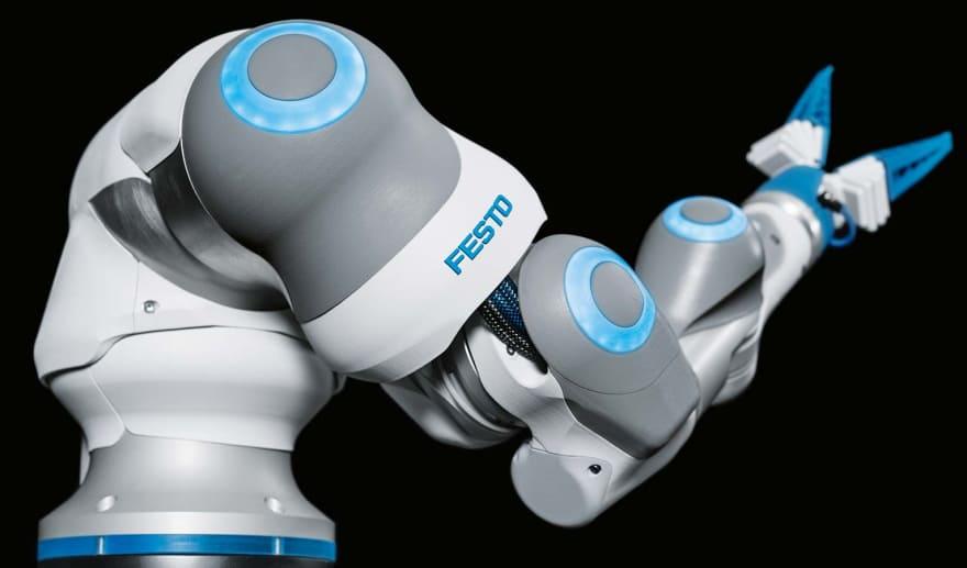 Festo Bionic Cobot, copyright by Festo