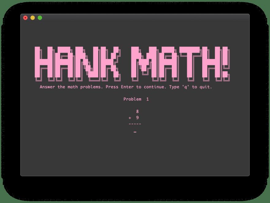 Hank Math