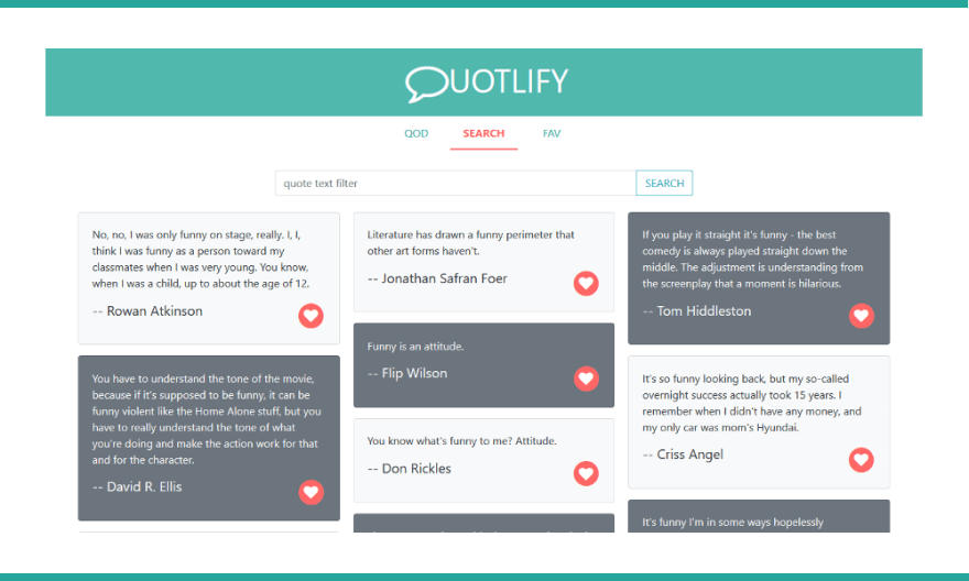Quotlify, a React/Redux example project - DEV Community