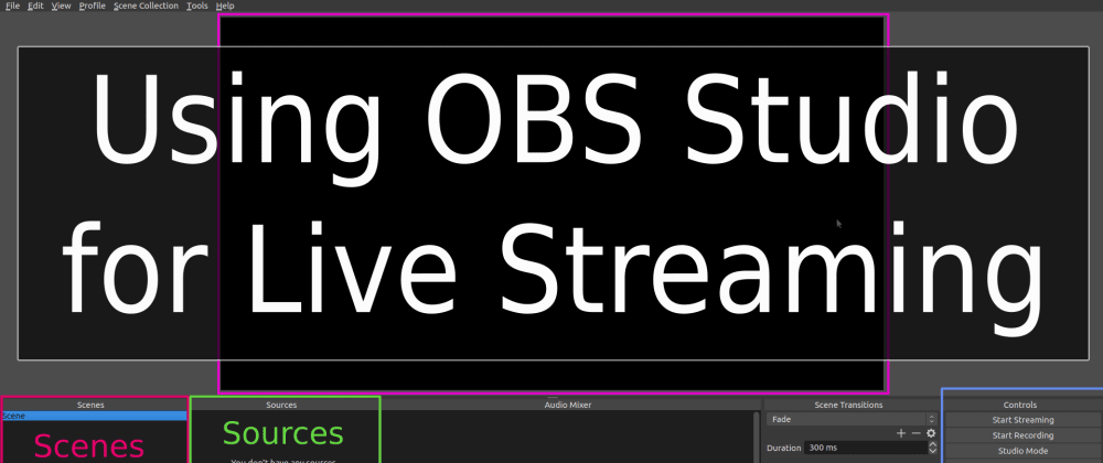 Cover image for How to Use OBS Studio to Record or Stream Live Presentations
