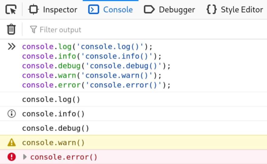 Use console.log() like a pro