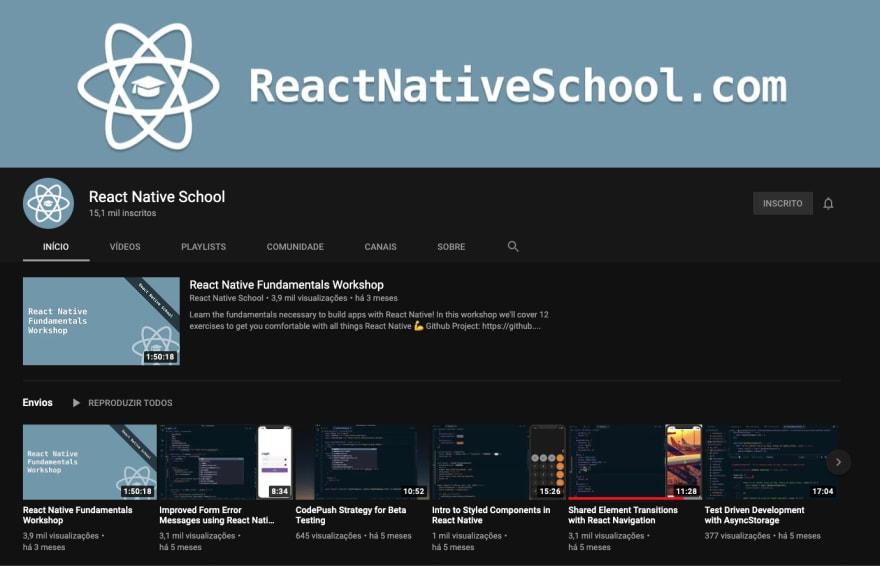 React Native School