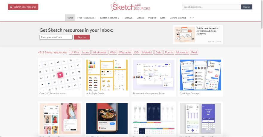 Sketch app source
