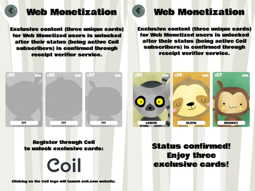 Enclave Games - Monthly June 2021: Forest Cuties Web Monetization