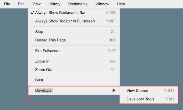 Sub-menu positioning