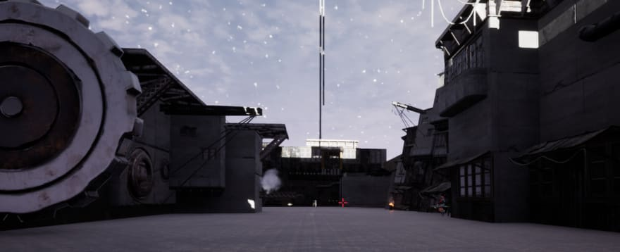 UE4 Game Scene