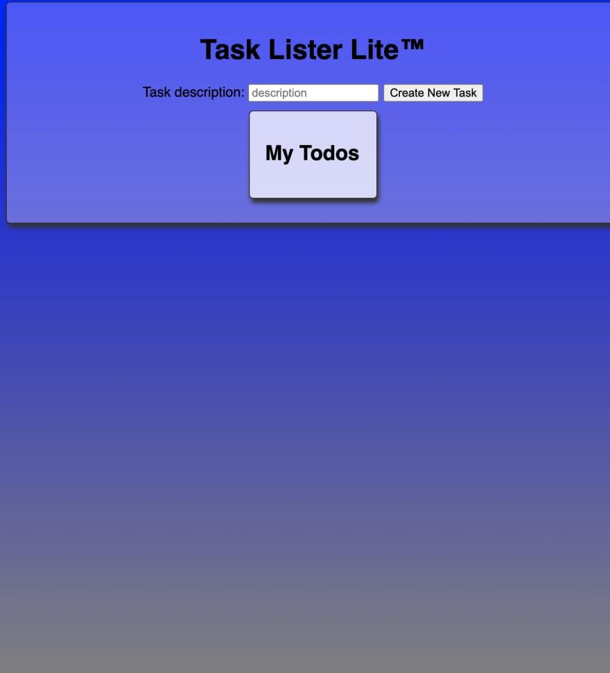 task lister