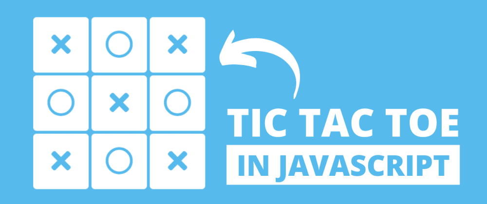 Cover image for Tic Tac Toe Game using HTML CSS & JavaScript