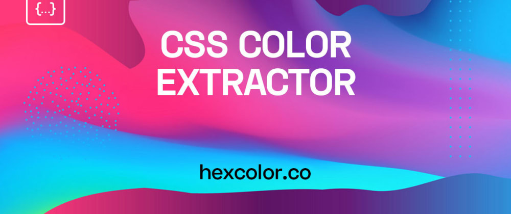 Cover image for Website Color Extractor