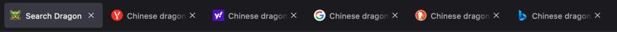 Sample screenshot of tabs