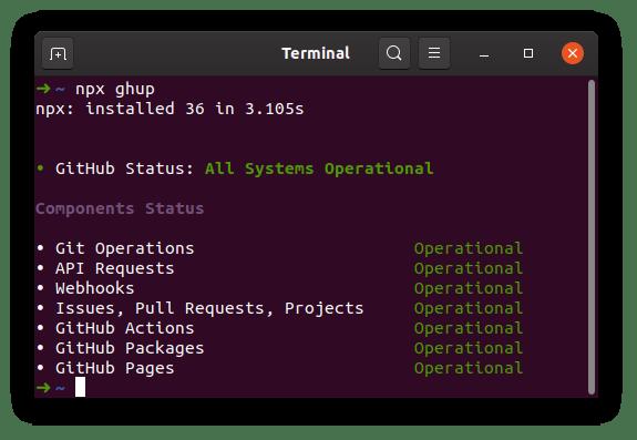 GitHub Status