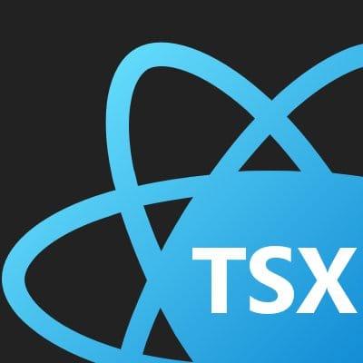 react + ts logo