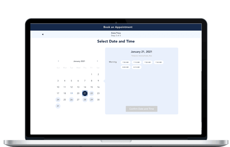 Spurwing's Appointment Scheduler